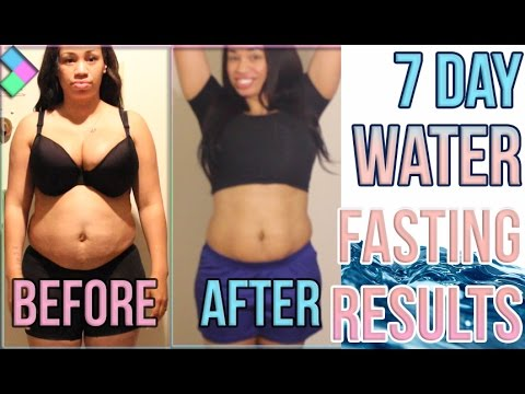 Water Fasting Results Before and After | Home & Family