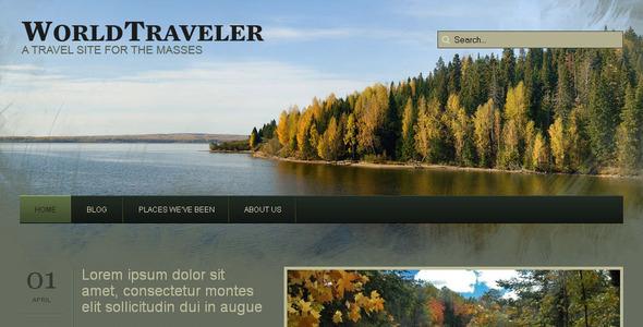 WP World Traveler - Travel Wordpress Theme - Home & Family